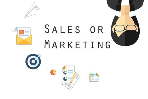 Sales or Marketing
